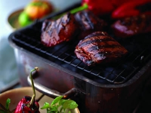 Barbecued Venison Steaks